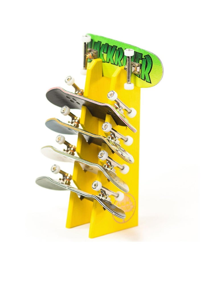 Image of Berlinwood Fingerboard Holder Display Yellow