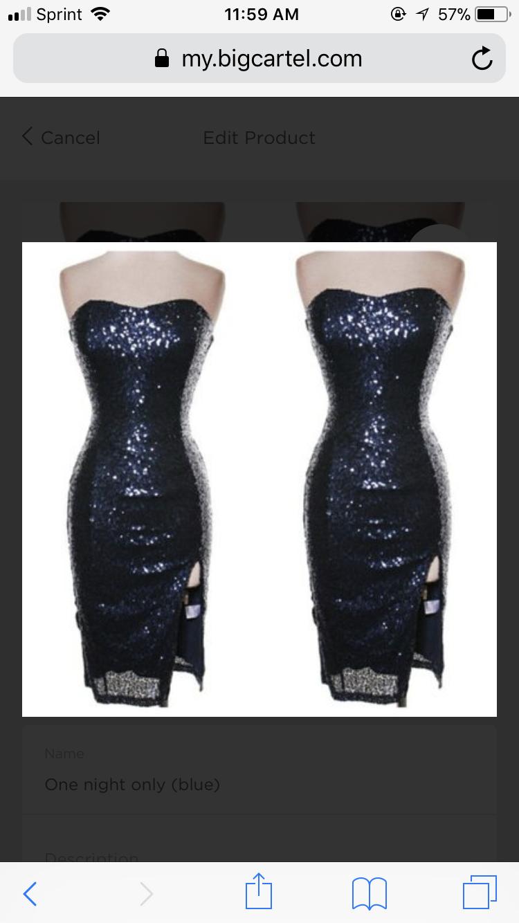Image of Glitz dress