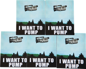 Image of I Want To Pump Sticker Pack (5)