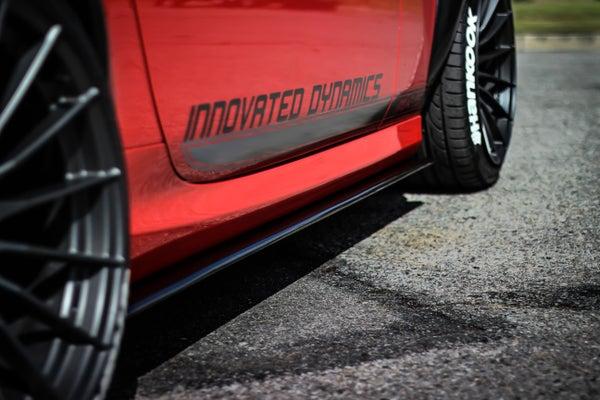 Image of Mazda Miata Side Skirt Splitter Extensions