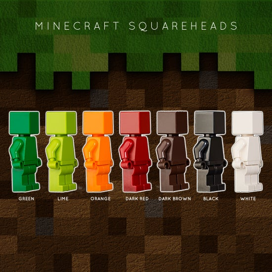 Image of MINECRAFT SQUAREHEADS