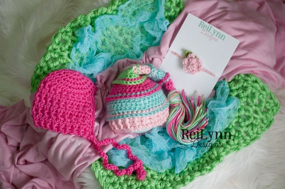 Image of Hot Pink, Aqua, Pink and Lime Photography Prop Bundle