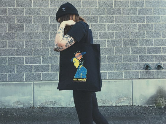 Image of SLUG Saturn's Return 29th Anniversary Commemorative Tote Bag