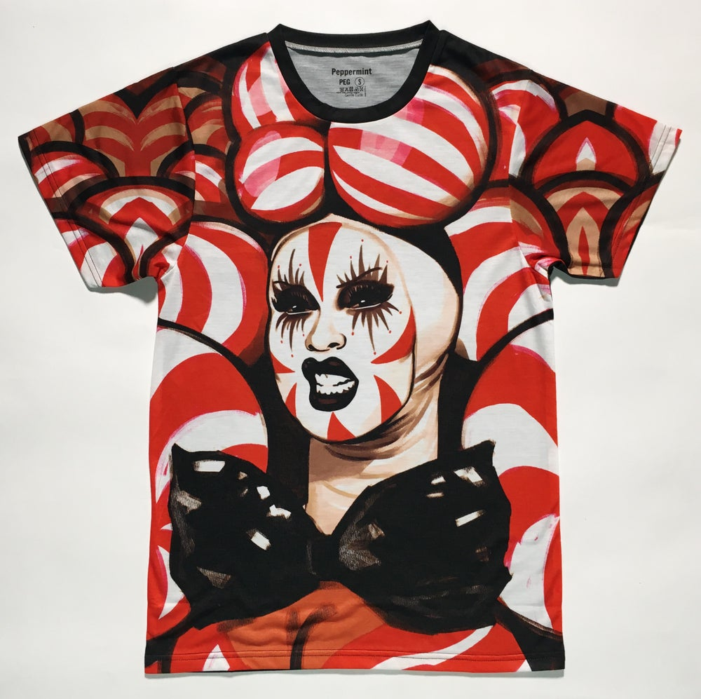 Image of NEW - Peppermint After Runway Tee - SIGNED & UNSIGNED