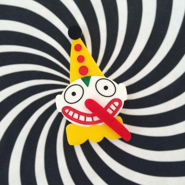 Image of Clown Balloon Brooch