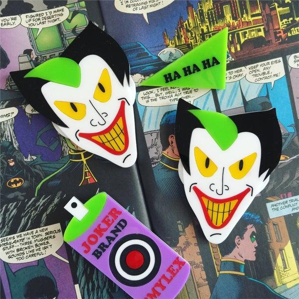 Image of Joker Brooch