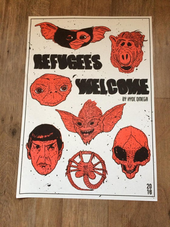 Image of Refugees Welcome