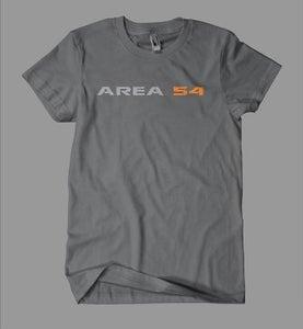Image of Area54 Logo Tee - Charcoal