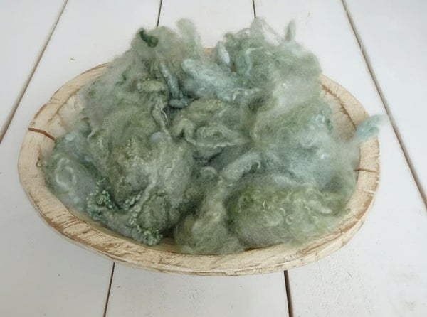 Image of Shades of Green and Yellow - LOOSE CURLS