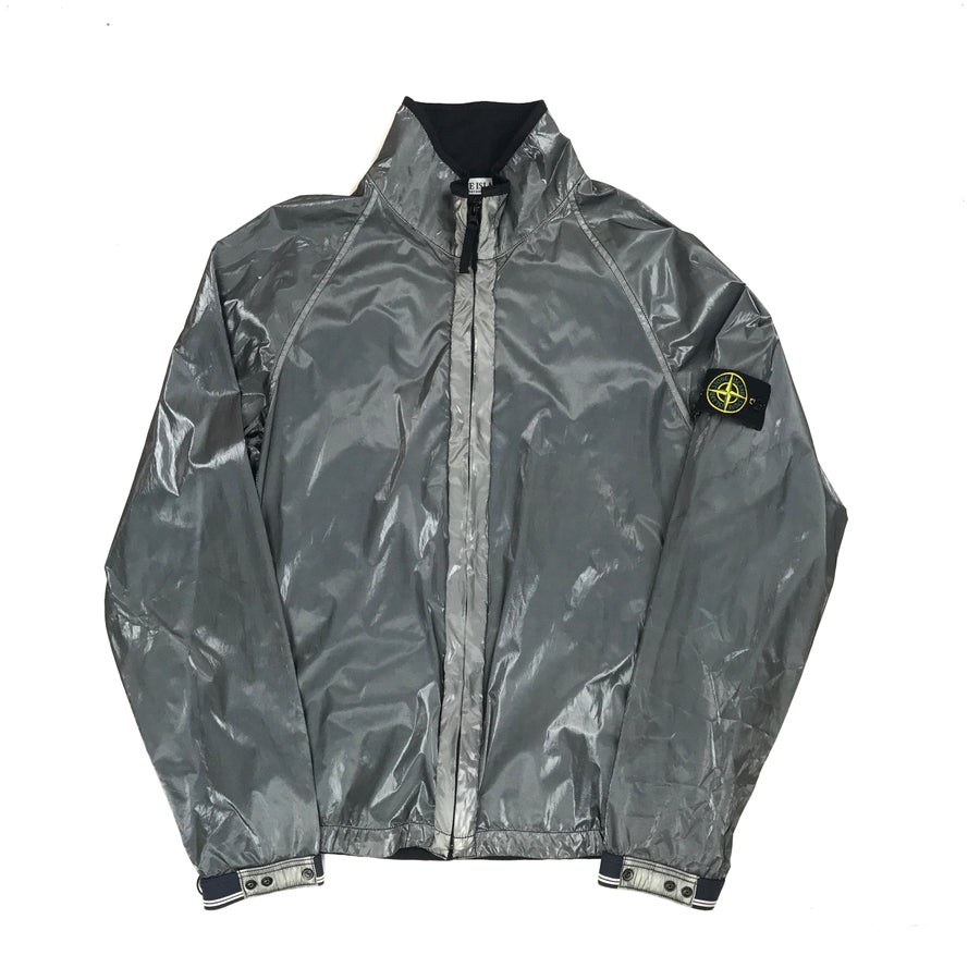 Image of Stone Island SS/2007 Liquid Silk Jacket
