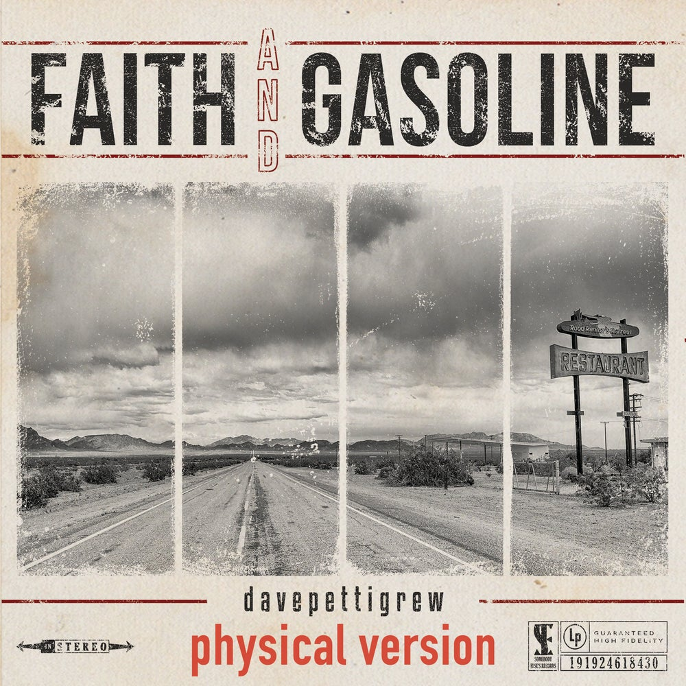 Image of Faith And Gasoline - PHYSICAL - pre-order