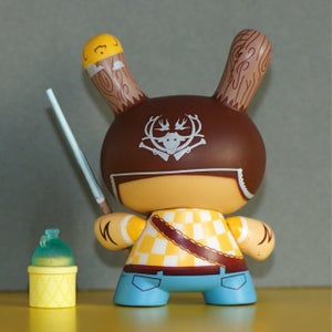 Image of Kidrobot Dunny French Series : Tizieu Hunter