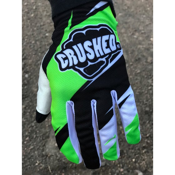 Image of Bright Green Motocross Gloves