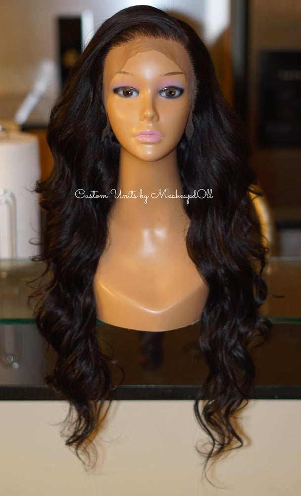 """Image of Brazilian Body Wave 26"""" Lace Frontal Wig!"""