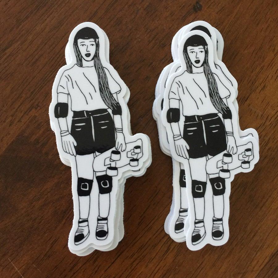 Image of Skater Girl