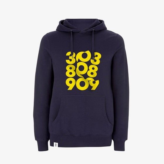 Image of SPIN 303:808:909 Pullover Hoody in Navy