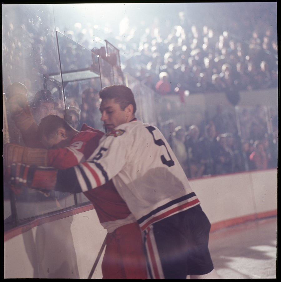 Image of Gorie Howe On The Glass; 1966