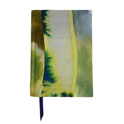 Sun Ray Silk Notebook - KJS STUDIO