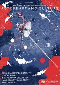 Image of Future Arts & Culture SXSW 2018 Poster