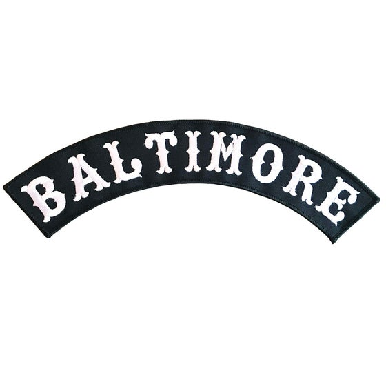 Image of Baltimore Rocker Patch