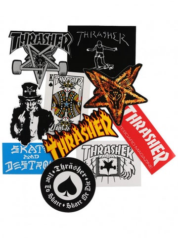 Image of THRASHER - STICKER PACK