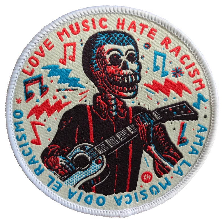 Image of Love Music Hate racism  VER. 2.0