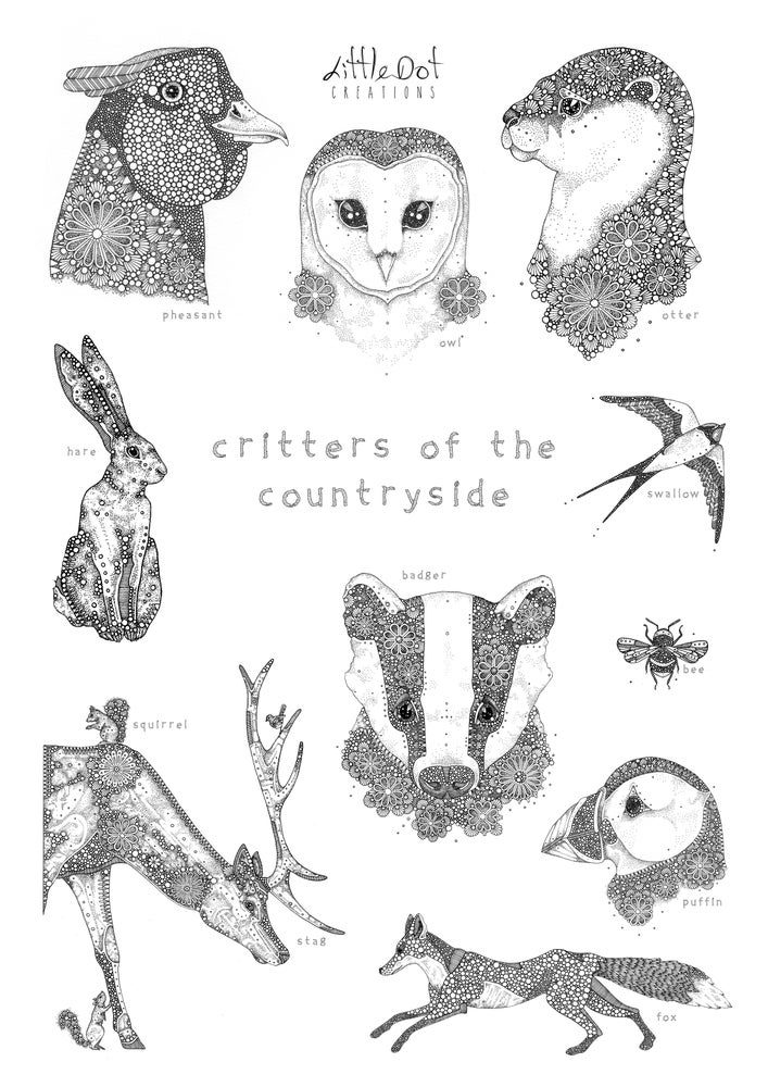 Image of Critters of the Countryside