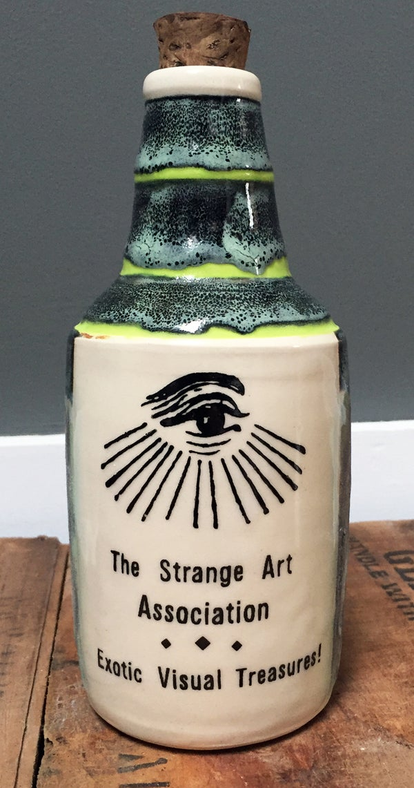 Image of Ceramic Bottle 33 - Strange Art Association