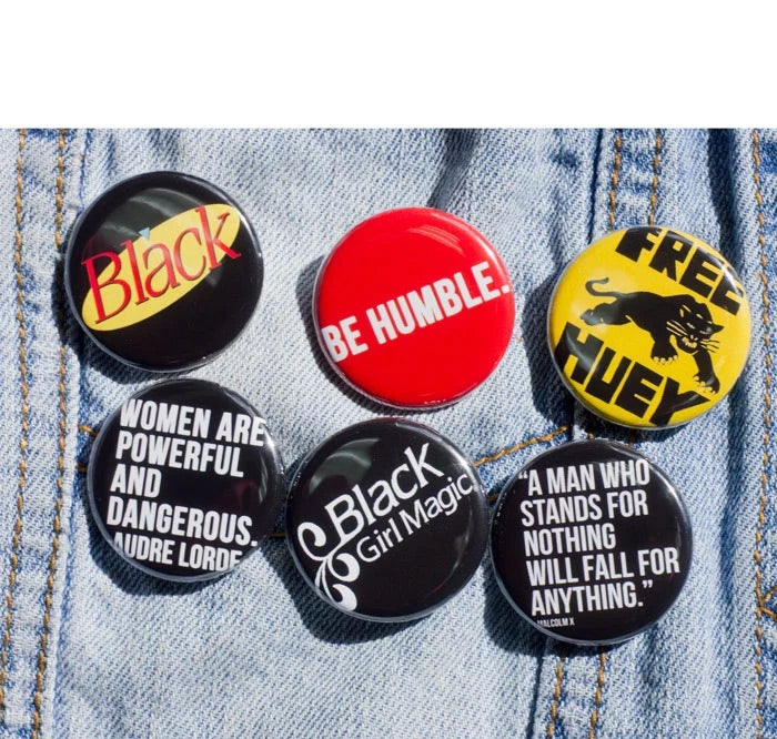 Image of Color Pin Back Button Pack