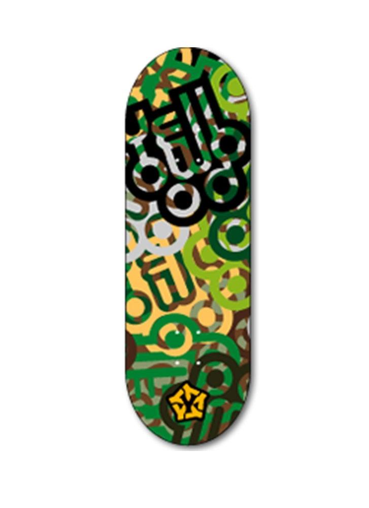 Image of Yellowood 'Camo' Fingerboard Deck 34mm
