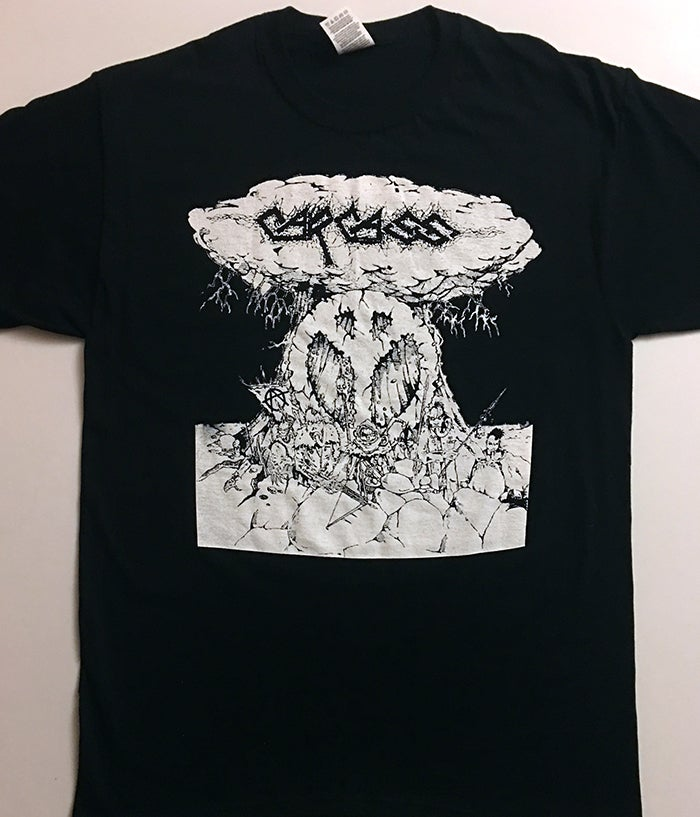"Image of Carcass "" No Peace "" T shirt"