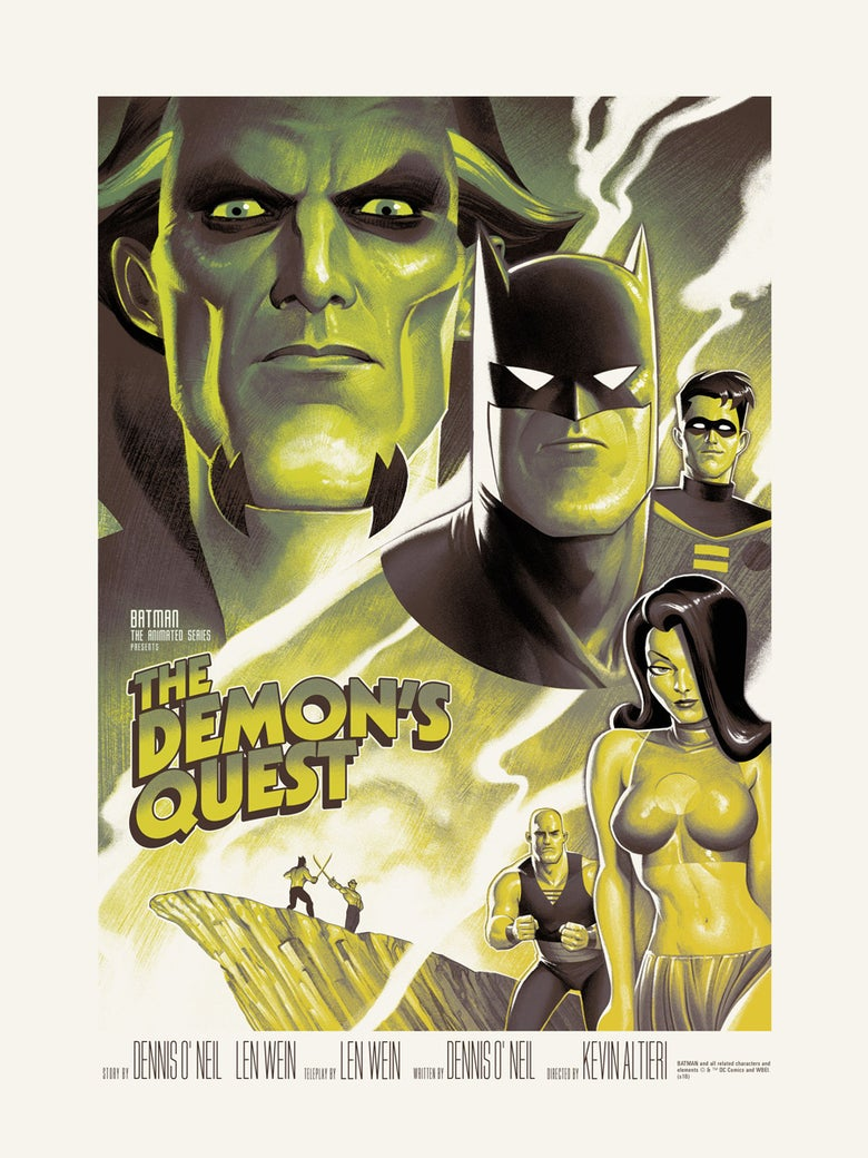 Image of THE DEMON'S QUEST (variant)