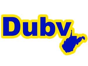 Image of DubV Hanger Sticker
