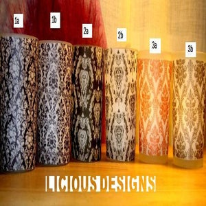 Image of 24 Vellum Votive Candle Holder WRAPS