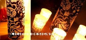 "Image of Vellum Luminary - Wild Damask 8"""