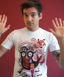 Image of Oreli 'Hibou Festiv' T-Shirt