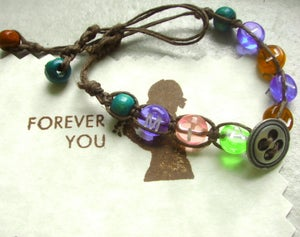 Image of Personalized Kids Natural Hemp Jewelry