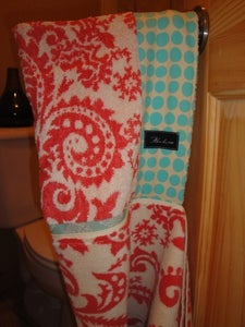 Image of Amy Butler Organic Watermelon Hooded Towel