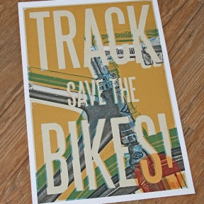 Image of Save The Track Bikes! 01