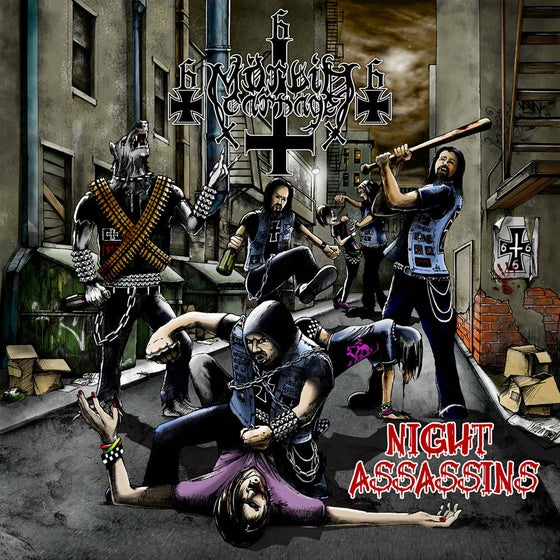 "Image of MORBID CARNAGE ""Night Assassins"" Super Jewel Box CD"