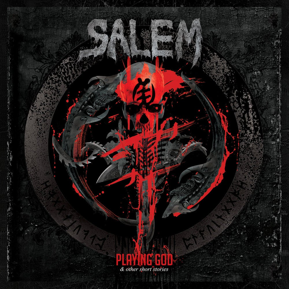 "Image of SALEM ""Playing God And Other Short Stories"" Super Jewel Box CD"