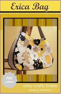 Image of The Erica Bag PDF sewing pattern