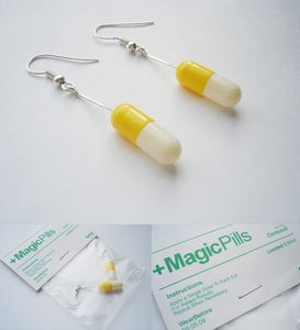 Image of Magic Pills Yellow/White