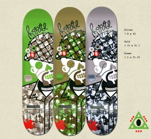 Image of KAPITOL FORCE SKATEBOARD