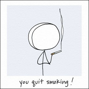 Image of you quit smoking!