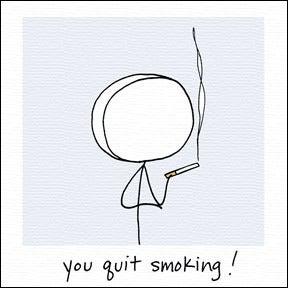 Image of you quit smoking!