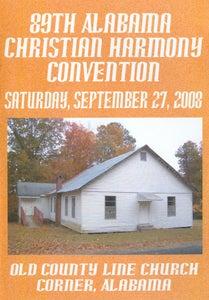 Image of 89th Alabama Christian Harmony Convention - Saturday - 3 CD set