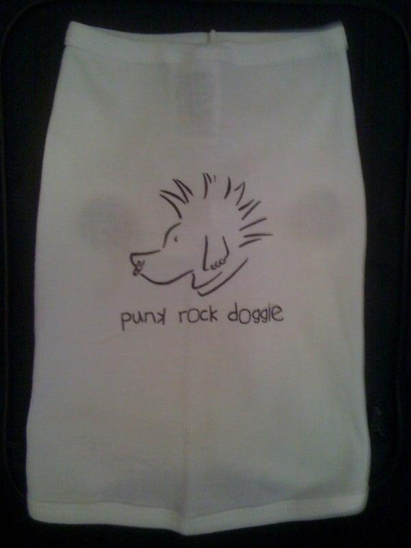 Image of Punk Rock Doggie - Dog Tee