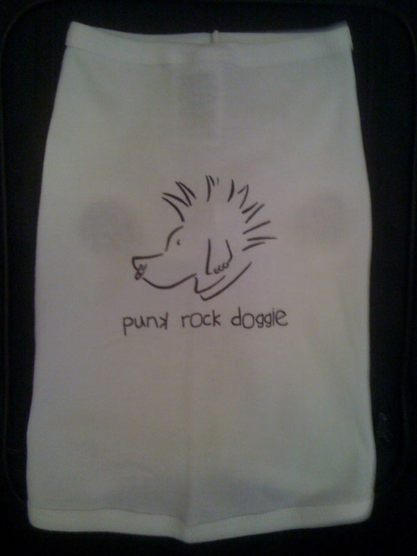 Image of Punk Rock Doggie - Dog Tee