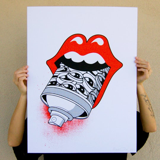 Image of Sign of the Times - Limited Edition Print